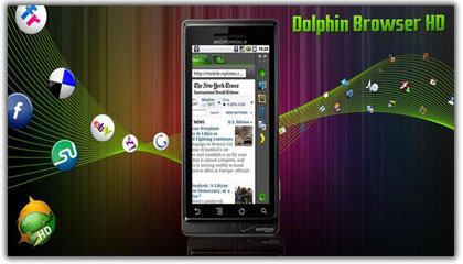 Dolphin Browser HD v5.0