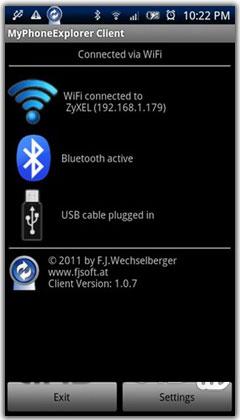 MyPhoneExplorer v1.8.1
