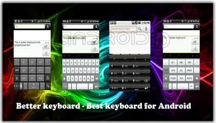 کیبورد مجازی Better Keyboard 8 v8.8.1