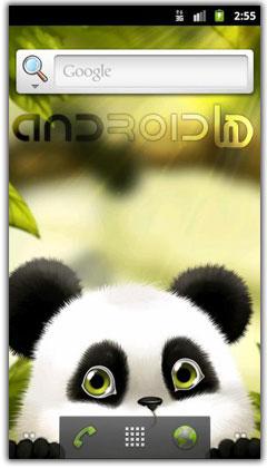والپیپر زنده ی پاندا Panda Chub Live Wallpaper v1.2