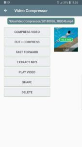 تصویر محیط Video Compressor – Fast Compress Video & Photo v1.2.08