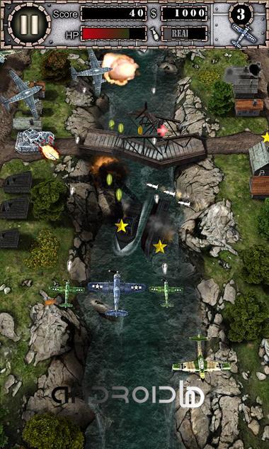 بازی مهیج AirAttack HD Part 1 v1.6 Lite