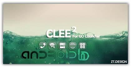 لانچر Clee2 Theme GO Launcher EX v1.1