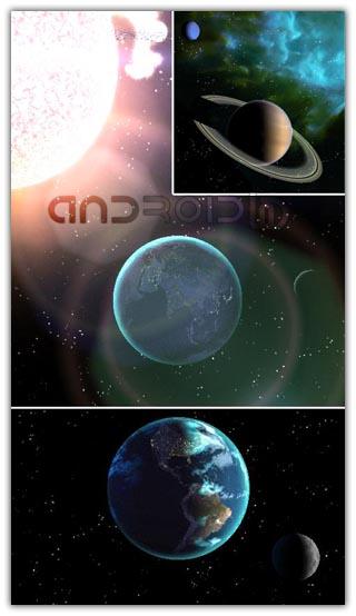 وال پیپر Celestial Bodies LiveWallpaper v2.7.5