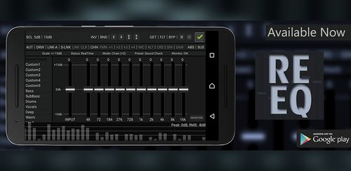 RE Equalizer 10-Band v1.5.1