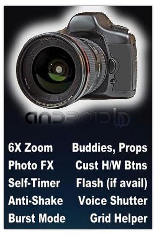 دوربین حرفه ای برای اندروید Camera ZOOM FX v3.0.0