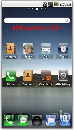 تم آیفون برای اندروید  iPhone VO Theme v2.7.0