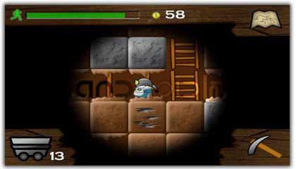 بازی  معدنچی Gem Miner Dig Deeper v1.3.03