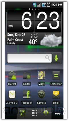تم اندروید  ADW Theme: Nexus S Gingerbread v2.1