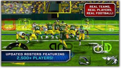 بازی فوتبال آمریکایی  MADDEN NFL 12 v1.0.0