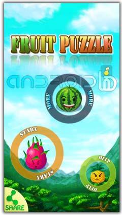 بازی معمای میوه ها  Fruit Puzzle v1.02