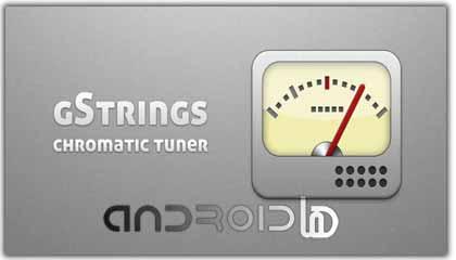 نرم افزار تیونر  Tuner – gStrings v1.0.10