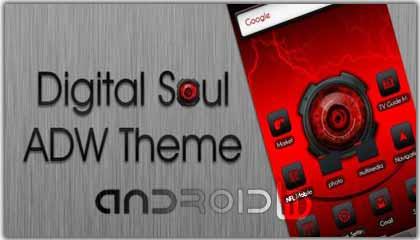 دانلود نرم افزار اندروید تم دیجیتال روح  Theme Digita Soul