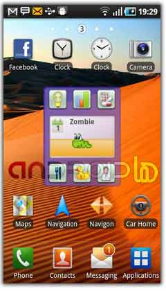 ویدجت  Droid Pet Widget v2.2
