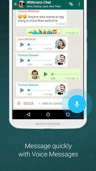 WhatsApp Messenger v2.18.312