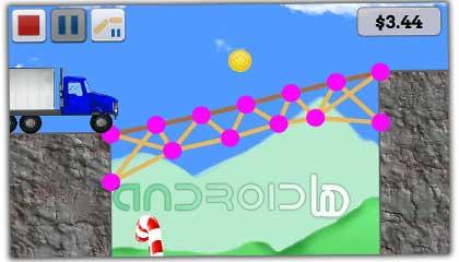 بازی پل آب نباتی Gumdrop Bridge v1.0.2