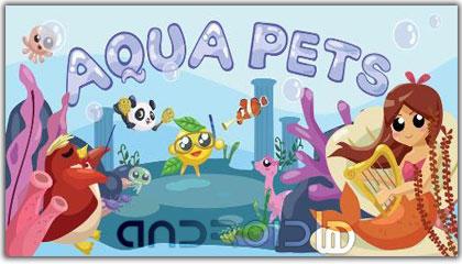 بازی حیوانات دریایی  Aqua Pets v1.2.02