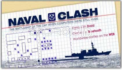 بازی  تصادف کشتی ها Naval Clash v1.4.1
