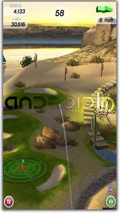 بازی گلف اندروید Flick Golf! v1.01