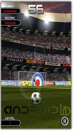 بازی  فوتبال اندروید Flick Soccer! v1.0