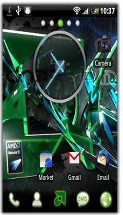 تم AMD Go Launcher EX Theme v1.5
