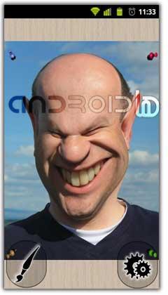 نرم افزار تغییر چهره Photo Warp v1.1