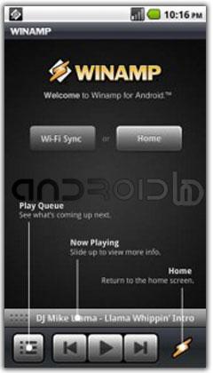پلیر قدرتمند  صوتی Winamp 1.2