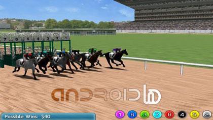 مسابقات شرط بندی مجازی رو اسب Virtual Horse Racing 3D Pro v1.0.0