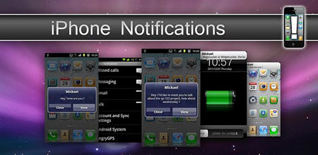 نرم افزار iPhone Notifications 2.0