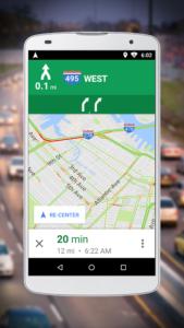 تصویر محیط Navigation for Google Maps Go v10.30.3