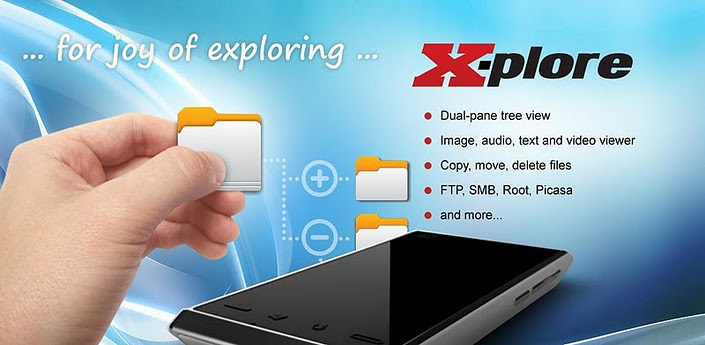 X-plore file manager 2.50