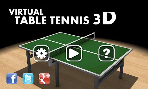 Virtual Table Tennis 3D Pro 2.7.10