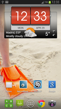 ۳D Flip Clock & Weather Pro v4.00.01
