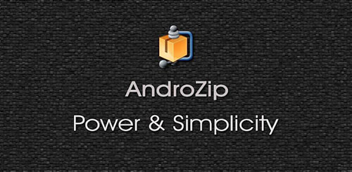AndroZip Root File Manager v2.7