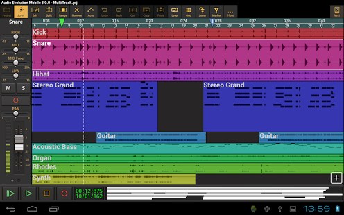 Audio Evolution Mobile DAW v4.7.1