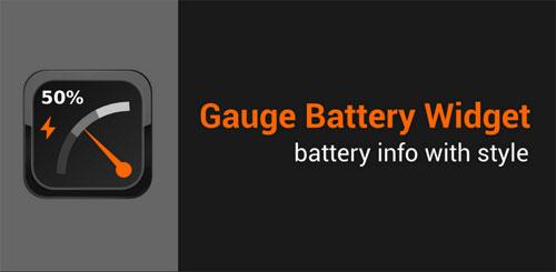 Gauge Battery Widget Pro v3.3.1