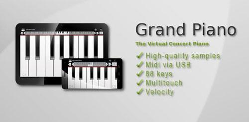 دانلود برنامه پیانو آندروید Grand Piano Pro