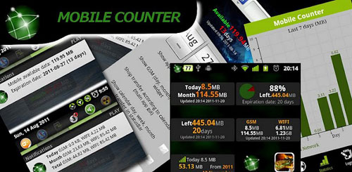 Mobile Counter Pro – 3G, WIFI v2.3