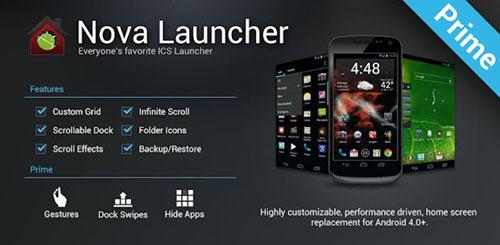Nova Launcher Prime 1.0.3 Beta 2