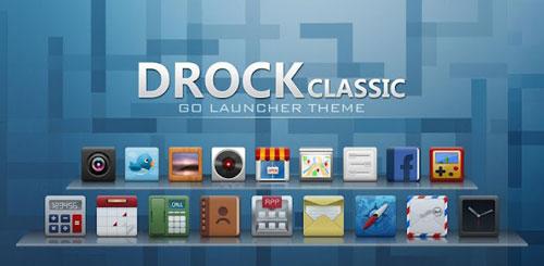 Drock GO Launcher EX Theme v1.0