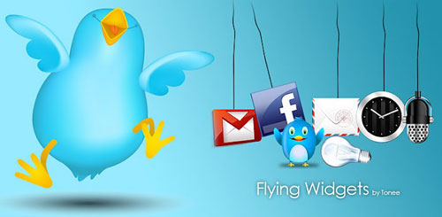 Flying Widgets Plus v1.4