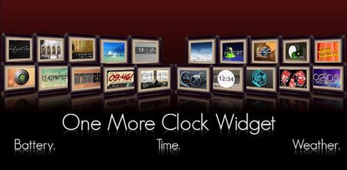One More Clock Widget v1.3.2