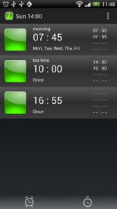 تصویر محیط Alarm Clock Tokiko v5.0.3