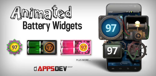 Animated Battery Widgets v1.0