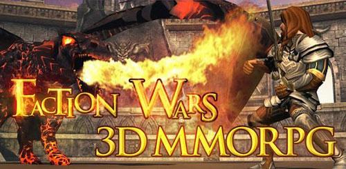 Faction Wars 3D MMORPG v1.0 + data