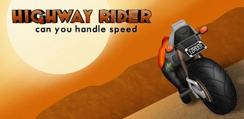 دانلود رایگان بازی موتوری Highway Rider