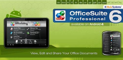 OfficeSuite Pro 6 + (PDF & HD) v6.1.861