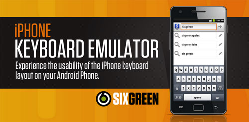 iPhone Keyboard Emulator v2.0.01