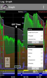 تصویر محیط Battery Widget Plus v2.43