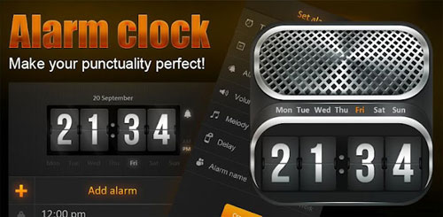 Alarm Clock + Beautiful Widget v1.0